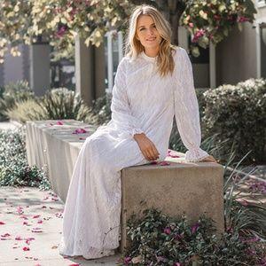 White Alisons Temple Dress